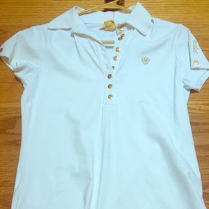 Ariat Marquis dress show blouse polo! New